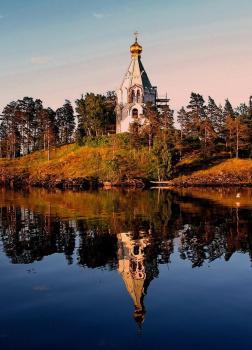 Монашеские острова на Ладожском озере